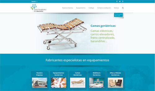 Sitio web: CTD, Centro Terapéutico del Descanso
