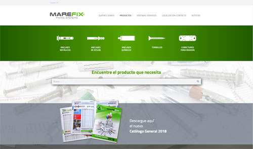 Sitio web: Marefix,Fixing Systems