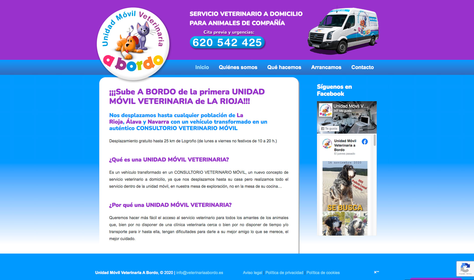 Sitio web: Bodegas Cándido Besa